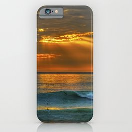 Sunset and a Show iPhone Case