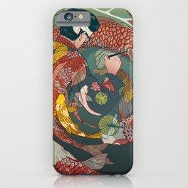Ukiyo-e tale: The creative circle iPhone Case