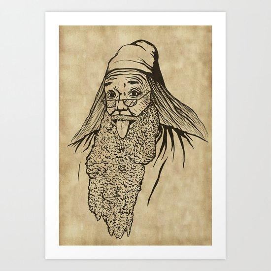 Albert Dumblestein Art Print