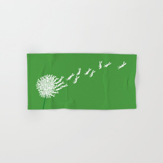 Escape from the dandeLION Hand & Bath Towel