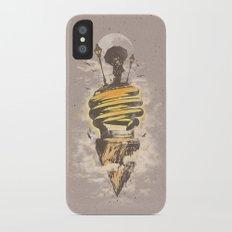 Lighting Up My World iPhone X Slim Case