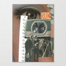 Run....... Canvas Print