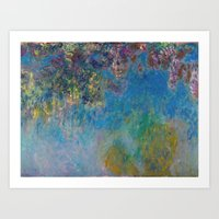 monet Art Prints featuring Monet by Palazzo Art Gallery