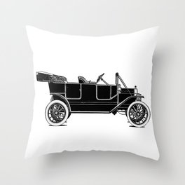 Old car Throw Pillow