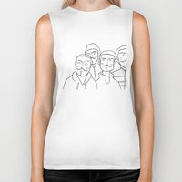 anonymous Biker Tanks featuring #anonymous by Claudio Calia