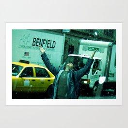 I LOVE NY - 02 Art Print