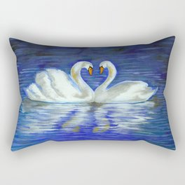 swans Rectangular Pillow