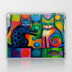 Juggle Puss Laptop & iPad Skin