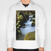 river Hoodies featuring River by W.B Photography