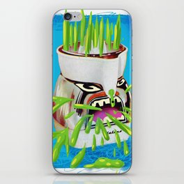 lucy juicer iPhone Skin