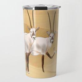 Arabian Oryx Travel Mug