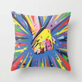 Band Together - Pride Throw Pillow