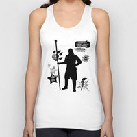 dragon age inquisition Tank Tops featuring Dragon Age - Anders by firlachiel