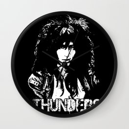 Johnny Thunders Wall Clock