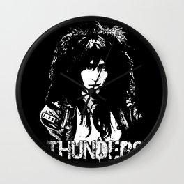 Johnny Thunders Wall Clock