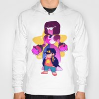 jjba Hoodies featuring steven and his stand by JohannaTheMad