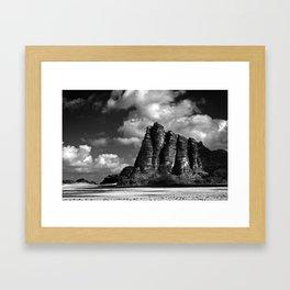 Seven Pillars Framed Art Print