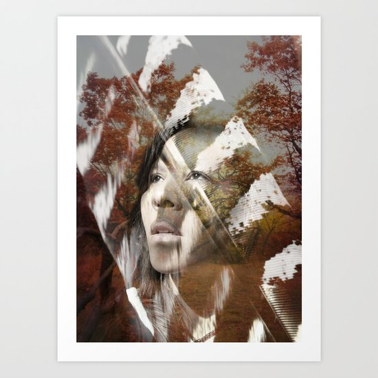 Earth Citizen Art Print
