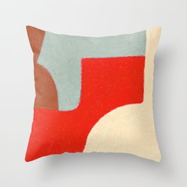 Crossing Town Throw Pillow