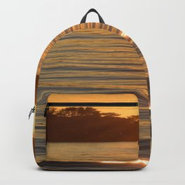 Sunset on the Bay Backpack