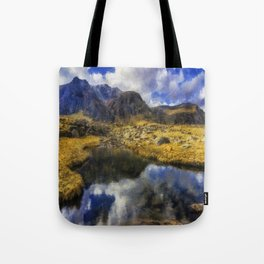 Stream Reflections Tote Bag