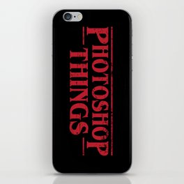 Photoshop Things iPhone Skin
