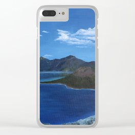 Spring at Crater Lake Clear iPhone Case