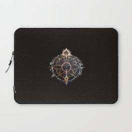 Saraswati Mandala Black Laptop Sleeve