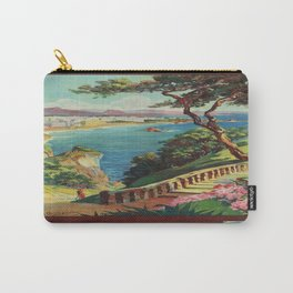 Vintage poster - Biarritz, France Carry-All Pouch
