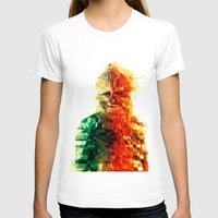 chewbacca T-shirts featuring Chewbacca by Tom Johnson