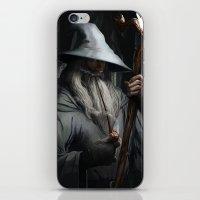 gandalf iPhone & iPod Skins featuring Gandalf by MATT DEMINO