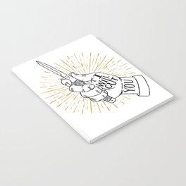 I will cut you Notebook