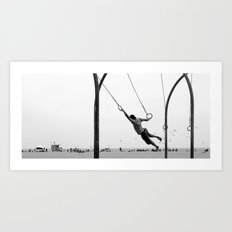 almost flying Art Print