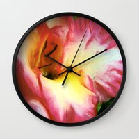 glee Wall Clocks featuring GLEE by FOXART  - JAY PATRICK FOX