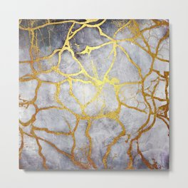 KINTSUGI  ::  Recognise Beauty Metal Print