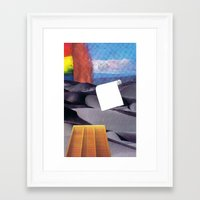 tool Framed Art Prints featuring Spill Tool by Ventral Is Golden