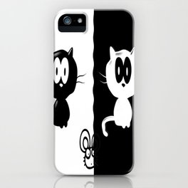 Catch the mouse iPhone Case
