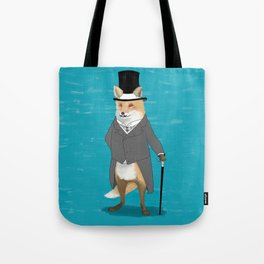 19th century fox Tote Bag