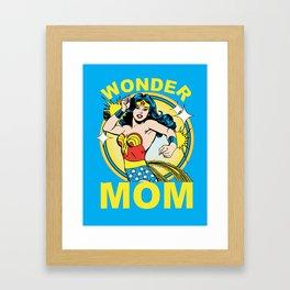 Wonder Mom Framed Art Print
