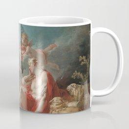 Diana and Endymion Oil Painting by Jean-Honoré Fragonard Coffee Mug
