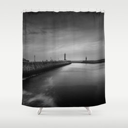 The Long Way Shower Curtain