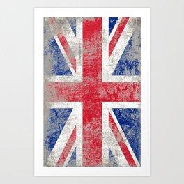 Rule Britannia (Union Jack) Art Print