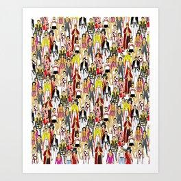 Freddie-A-Thon Art Print