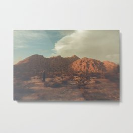 Arizona, Desert, desert photography, desert decor, mountains, sky, desert print, Phoenix, saguro Metal Print