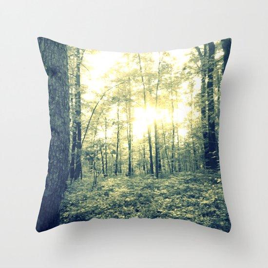 Where Magic Grows Throw Pillow