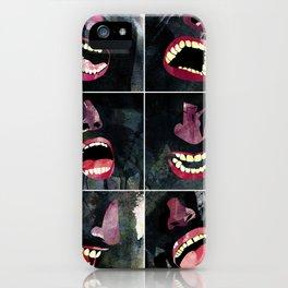 9 gritos iPhone Case