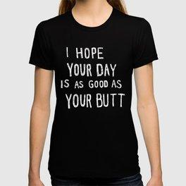 Butt Black T-shirt