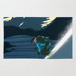Retro ski Rug