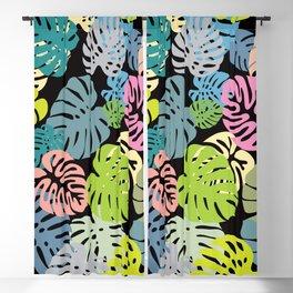 Multicolor Tropical Leaves 30 Blackout Curtain