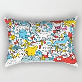 ON THE CLOUDS Rectangular Pillow